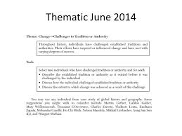 global history thematic essay thematic essay rubric