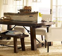 pottery barn style dining table: pottery barn dining room on solid wood  pieces save diy pottery barn inspired dining table