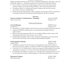 Ideas Collection Fascinating Hotel Housekeeping Resume Sample