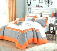 navy blue and orange bedding orange and gray bedding orange and grey bedding medium size of