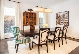 accent chair with modern st andard height dining tables dining room transitional and fun