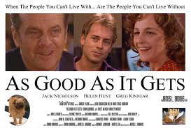 """Love Movie Quotes Fascinating As Good As It Gets """"You Make Me Want To Be A Better Man"""" Super"""