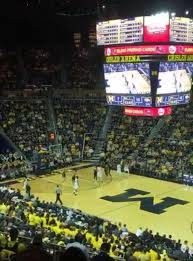 Crisler Center Section 220 Home Of Michigan Wolverines