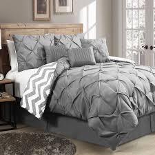 avondale manor ella pinch pleat reversible piece comforter set
