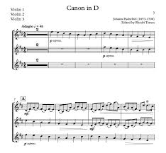 pachelbel canon violin sheet music pachelbel canon in d play along accompaniment mp3 an