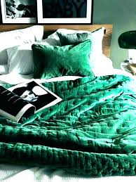 dark green duvet cover blue covers navy and