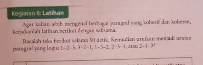 Kunci jawaban bahasa indonesia kelas xi. Kunci Jawaban Bahasa Indonesia Kelas 8 Kegiatan 8 5 Kunci Soal