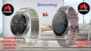 Huawei Watch GT 2 Porsche Design vs ...