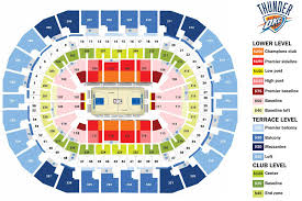 Chesapeake Seating Chart Thunder Okc Thunder Stadium Seating Chart Www Bedowntowndaytona Com