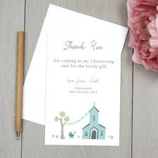 personalised thank you cards notonthehighstreet com Wedding Thank You Cards No Pictures personalised christening thank you cards thank you cards wedding thank you cards photo