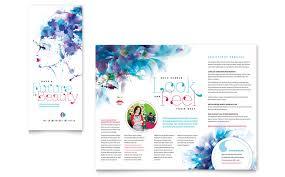 free microsoft word brochure templates tri fold microsoft word tri fold brochure template cosmetology brochure