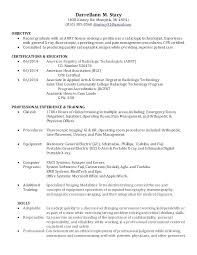 Sample X Ray Tech Resume Technologist Cover Letter Building ...