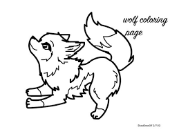 Cute Wolf Coloring Pages At Getdrawingscom Free For Personal Use