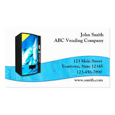 Business Card Vending Machine Mesmerizing Vending Machine Business Card Templates BizCardStudio