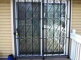 door gate fence fencing sliding patio doors glass security