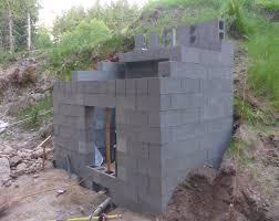 rain shelter pump walls done