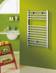 Hot water towel radiator / metal / chrome / contemporary - RICHMOND PLUS