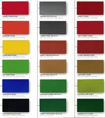 Kirker Automotive Paint Color Chart Kirker Paint Color Chart