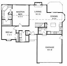ranch house plan 62523 level one