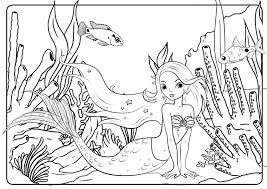 Kleurplaat Dolfijn Zeemeermin Archidev Dolfijn En Zeemeermin