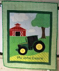 John Deere Tractor Quilt Crib/Lap/Wall &  Adamdwight.com