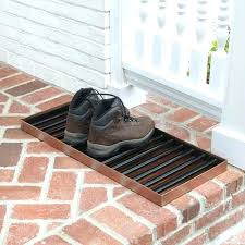 Decorative Boot Tray Mesmerizing Small Boot Tray Mudroom Metal Liner Decorative Square Lareplicaco