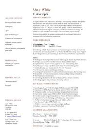 Technology Resume Template Stunning IT CV Template CV Library Technology Job Description Java CV
