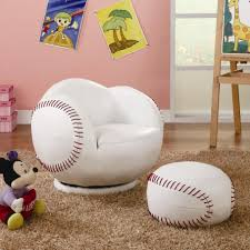 kids sports chairs small kids baseball chair and ottoman