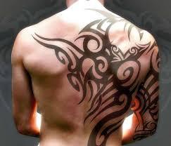 татуировки на лопатке мужские фото