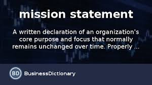 Personal Value Statement Examples Simple What Is A Mission Statement Definition And Meaning