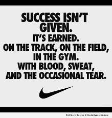 Success Isn't Given Places To Visit Pinterest Success Sport Best Sports Success Motivations