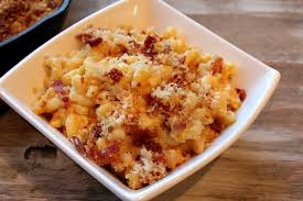 this week i made the skillet macaroni and cheese