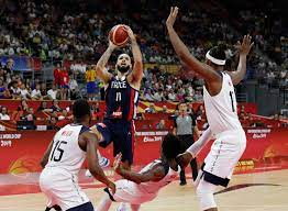 The men's and women's national teams will hold training camps in las vegas in july, they announced thursday, and. France Upsets U S At Basketball World Cup The New York Times