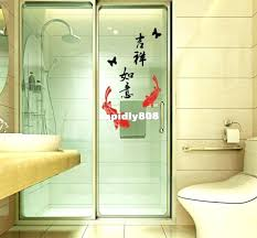 glass door stickers new fashion sliding glass door decals plastic wall stickers glass door stickers south africa