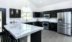 black marble kitchen countertops worktop