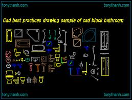 cad best practices drawing sample of cad block bathroom