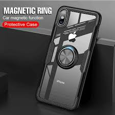 Luxury Car Holder <b>Ring Cover Case For</b> iPhones <b>Soft</b> Silicone ...