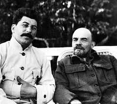 lenin and stalin rare picture of lenin and stalin soviet empire com u s s r