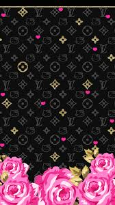 cute pink and black wallpaper. LOve Pink Black Wallpaperfreebie For Cute And Wallpaper Pinterest