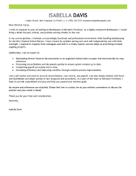 Best Bookkeeper Cover Letter Examples Livecareer Sample Cover