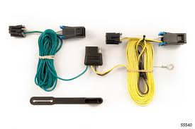 chevy van wiring kit harness curt mfg  chevy van trailer wiring kit 2003 2015 by curt mfg 55540