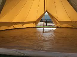 7m zig bell tent double door