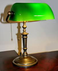 traditional bankers desk lamp
