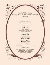 Free Catering Menu Templates For Microsoft Word Catering Menu Template Microsoft Word Templates