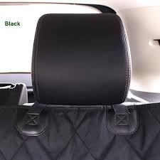 dog seat covers for leather seats black waterproof hammock pet car seat cover black