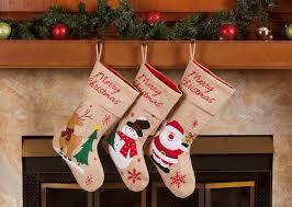 best christmas stockings. Brilliant Best Classic Christmas Stockings 18u201d Cute Santau0027s Toys Burlap  Snowflakes On Best S