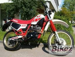 1986 yamaha xt 600 specifications and