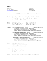 resume download ms word Template Resume Formats Microsoft Word ...
