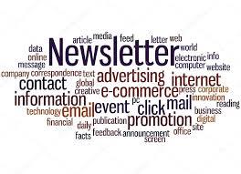 Newsletter In Word Newsletter Word Cloud Concept 7 Stock Photo Kataklinger 113023912