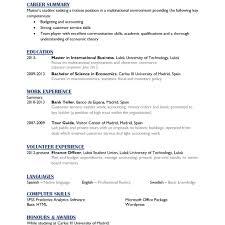 English Resume Tour Guide Therpgmovie